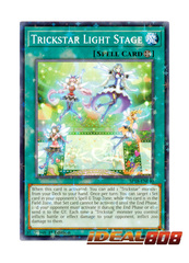 Trickstar Light Stage - SP18-EN040 - Starfoil Rare - 1st Edition