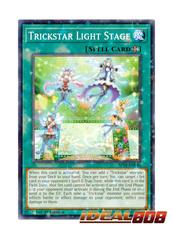 Trickstar Light Stage - SP18-EN040 - Starfoil Rare - 1st Edition
