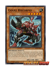Gouki Riscorpio - SP18-EN017 - Common - 1st Edition