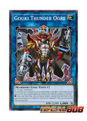 Gouki Thunder Ogre - SP18-EN035 - Common - 1st Edition