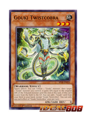 Gouki Twistcobra - SP18-EN019 - Common - 1st Edition
