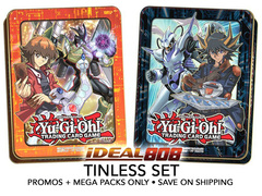 "Yugioh 2018 Mega-Tin Set - ""Jaden"" & ""Yusei"" (Tin-less Version) * PRE-ORDER Ships Aug.31, 2018"