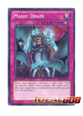 Magic Drain - BP01-EN090 - Starfoil Rare - 1st Edition
