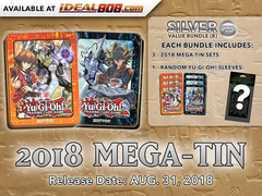 Yugioh 2018 Mega-Tin - Bundle (B) - Get x6 Mega-Tins (3 of Each) + Bonus Item * PRE-ORDER Ships Aug.31, 2018