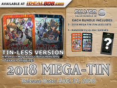 Yugioh 2018 Mega-Tin (Tin-Less Version) Bundle (B) - Get x6 Tin-Less Versions (3 of Each) + Bonus Item * PRE-ORDER Ships Aug.31,