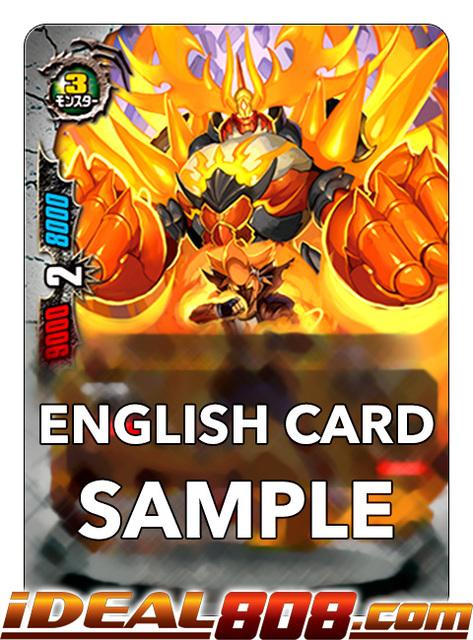 Burn Nova Buddyfight x 4 Fist Emperor of Manliness X2-BT01//0027EN R Glossy