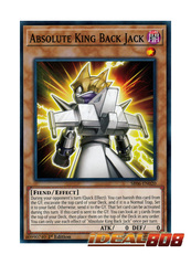 Absolute King Back Jack - SR06-EN020 - Common - 1st Edition