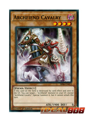 Archfiend Cavalry - SR06-EN013 - Common - 1st Edition