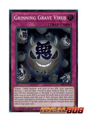 Grinning Grave Virus - SR06-EN030 - Super Rare - 1st Edition