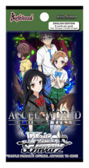 Accel World -Infinite Burst- (English) Weiss Schwarz Booster Pack