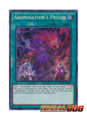 Abomination's Prison - CHIM-EN054 - Secret Rare - Unlimited Edition
