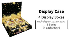 Maximum Gold Yugioh  Display Box  Case [4 Display Boxes] * PRE-ORDER Ships Nov.13