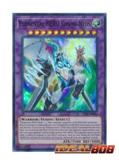 Elemental HERO Cosmo Neos - SAST-EN036 - Super Rare - Unlimited Edition