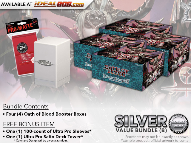 Dragoborne BT02 Bundle (B) - Get x4 Oath of Blood Booster Boxes + FREE Bonus Items