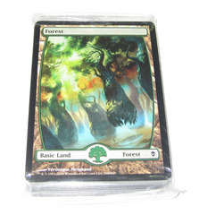 Zendikar Fat Pack Full Art Land Pack (Sealed - 40ct)