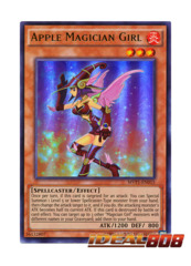 Apple Magician Girl - MVP1-EN015 - Ultra Rare - Unlimited Edition
