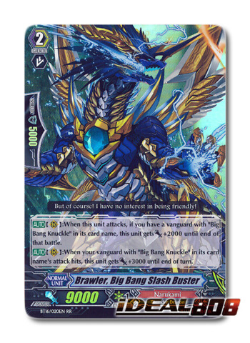 Brawler, Big Bang Slash Buster - BT16/020EN - RR