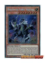 Mekk-Knight Purple Nightfall - MP18-EN183 - Secret Rare - 1st Edition