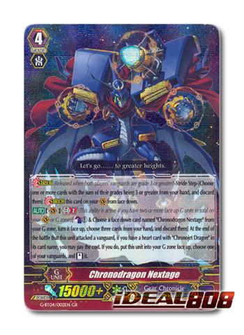 Chronodragon Nextage - G-BT04/002EN - GR