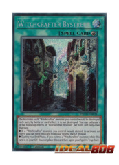 Witchcrafter Bystreet - INCH-EN024 - Secret Rare - 1st Edition