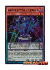 Abyss Actor - Extras - DESO-EN020 - Super Rare - 1st Edition