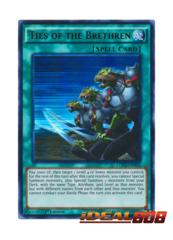 Ties of the Brethren - LDK2-ENY02 - Ultra Rare - 1st Edition
