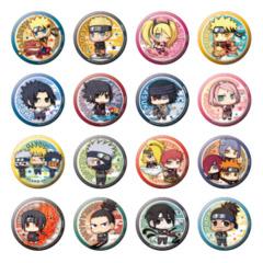 Naruto Shippuden Arata na Jidai Dattebayo! Ver. Can Badge Collection Box (All 16 Pieces)