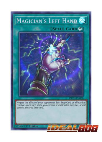 Magician's Left Hand - INCH-EN058 - Super Rare - 1st Edition