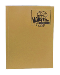 Monster Protectors 9 Pocket Binder - Matte - Gold