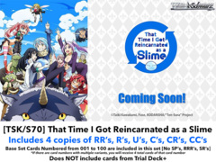 [TSK/S70] That Time I Got Reincarnated as a Slime (EN) Base Playset [Includes RR's, R's, U's, C's, CR's, CC's (400 cards)]