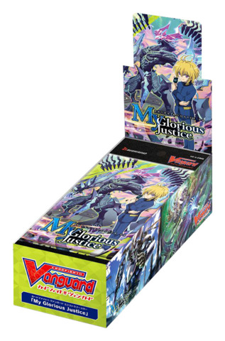 CFV-V-EB08 My Glorious Justice (English) Cardfight Vanguard V-Extra Booster Box [12 Packs]