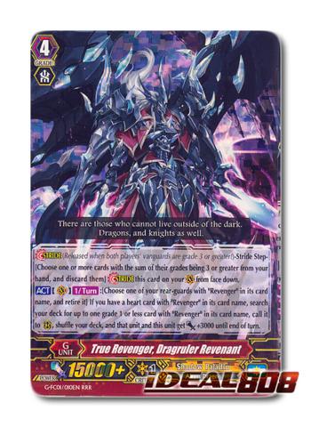 True Revenger, Dragruler Revenant - G-FC01/010EN - RRR