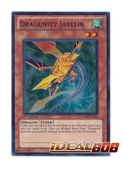 Dragunity Javelin - HA04-EN014 - Super Rare - 1st Edition