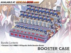 CFV-V-MB01 PSYqualia Strife (English) Cardfight Vanguard V-Booster Case [16 Boxes]