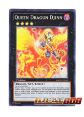 Queen Dragun Djinn - GAOV-EN049 - Super Rare - Unlimited Edition