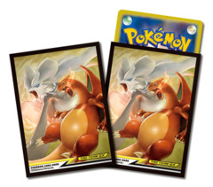 Pokemon - Card Sleeves (64ct) - Reshiram & Charizard Tag Team GX [#4521329246710]