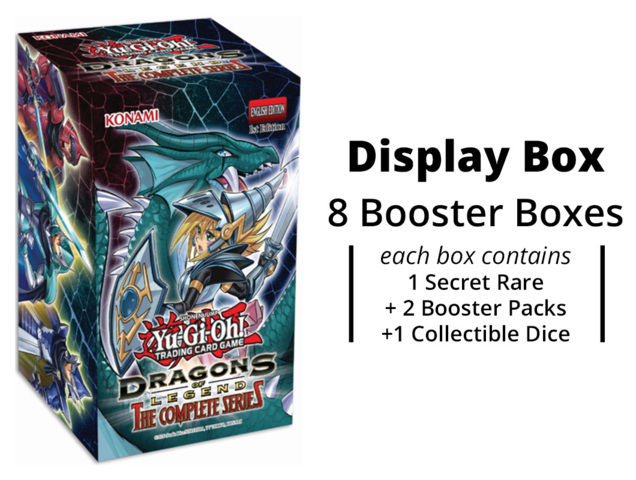 Dragons of Legend: The Complete Series  Display Box [8 Boxes] * PRE-ORDER Ships Sep.11