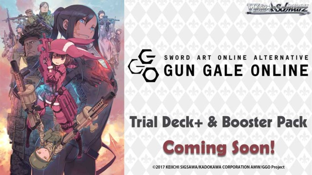 fe6089301f979c Sword Art Online Alternative   Gun Gale Online (English) Weiss ...