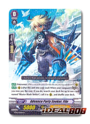 Advance Party Seeker, File - BT16/032EN - R