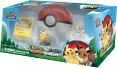 Pikachu & Eevee Poke ball Collection