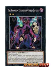 The Phantom Knights of Cursed Javelin - LEHD-ENC32 - Common - 1st Edition