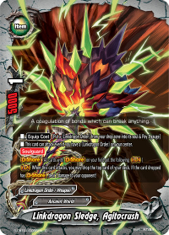 Linkdragon Sledge, Agitocrush [S-CBT01/0056EN C (Regular)] English
