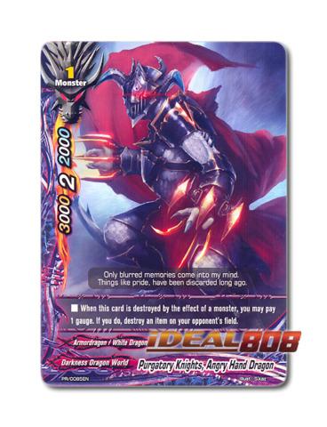 Purgatory Knights, Angry Hand Dragon [PR/0085EN] English Promo