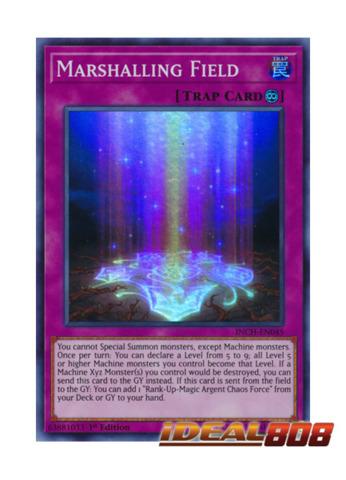 Marshalling Field - INCH-EN045 - Super Rare - 1st Edition