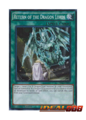 Return of the Dragon Lords - SR02-EN025 - Super Rare - 1st Edition