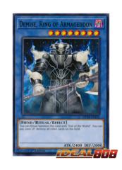 Demise, King of Armageddon - MP18-EN232 - Common - 1st Edition