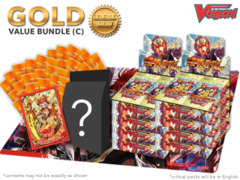 Cardfight Vanguard G-BT10 Bundle (C) Gold - Get x8 Raging Clash of the Blade Fangs Booster Box + FREE Bonus Items