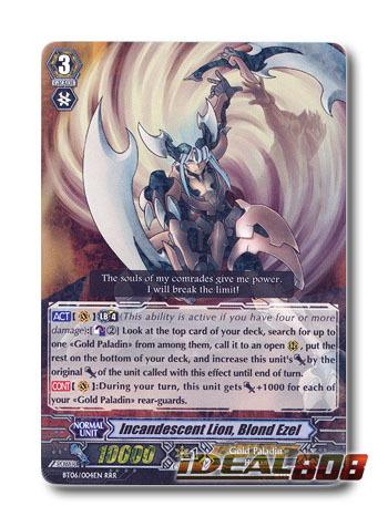 Incandescent Lion, Blond Ezel - BT06/004EN - RRR