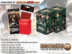 Weiss Schwarz AoT2 Bundle (A) Bronze - Get x2 Attack on Titan Vol.2 Booster Boxes + FREE Bonus