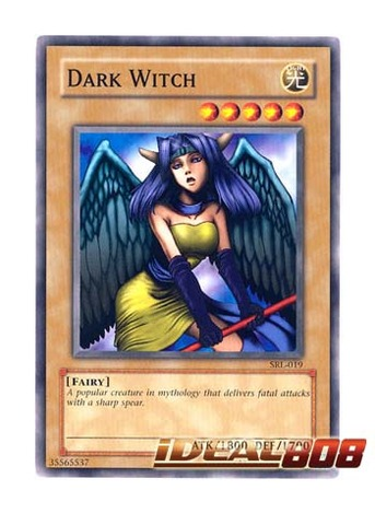 Dark Witch - SRL-EN019 - Common - Unlimited Edition